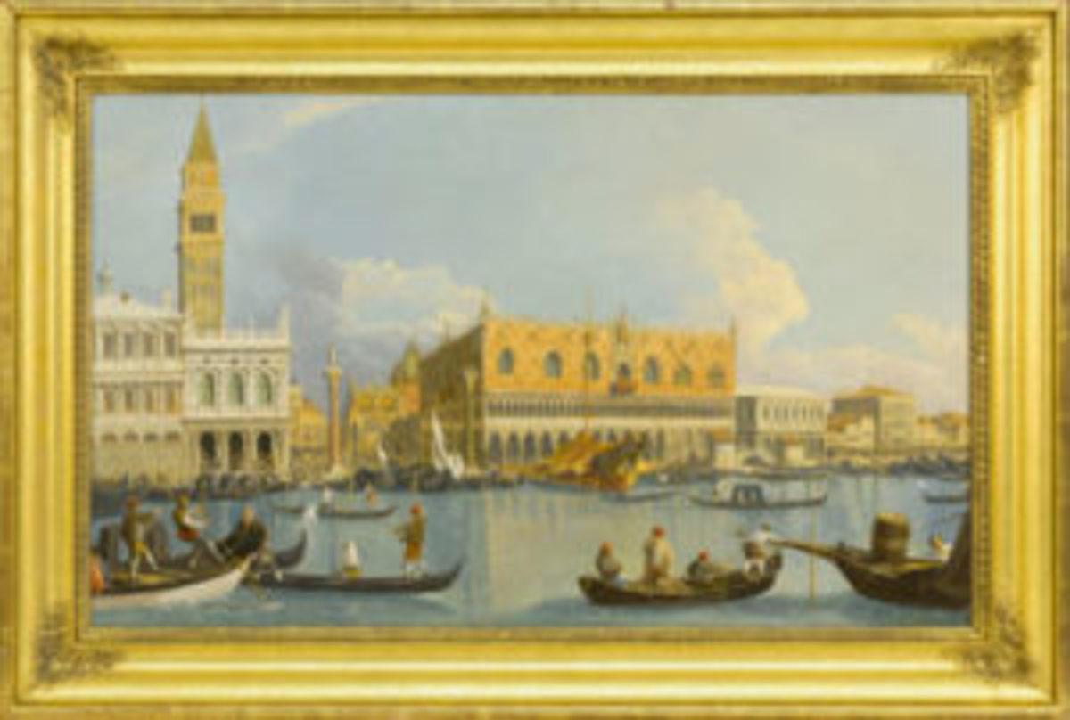 Robert Salmon painting