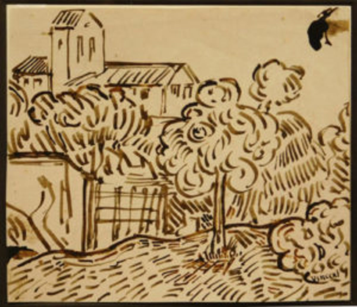 Van Goh drawing
