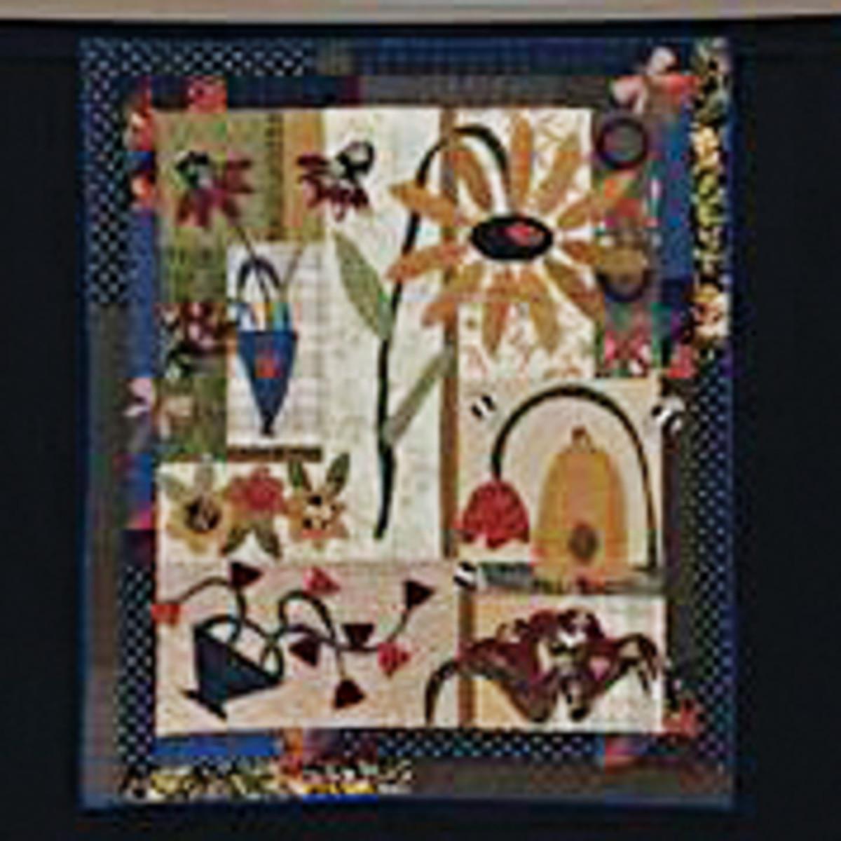 Ma-Ma's Flower Garden quilt