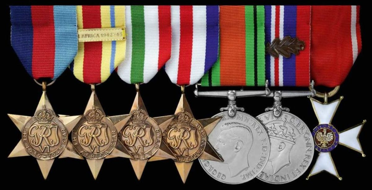 Medals of Sir Christopher Lee