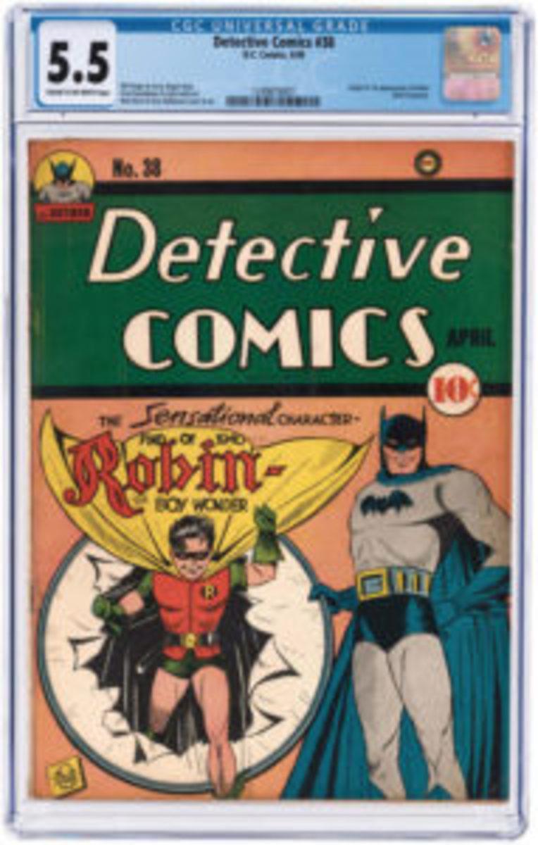 Detective Comics_Robin Boy Wonder