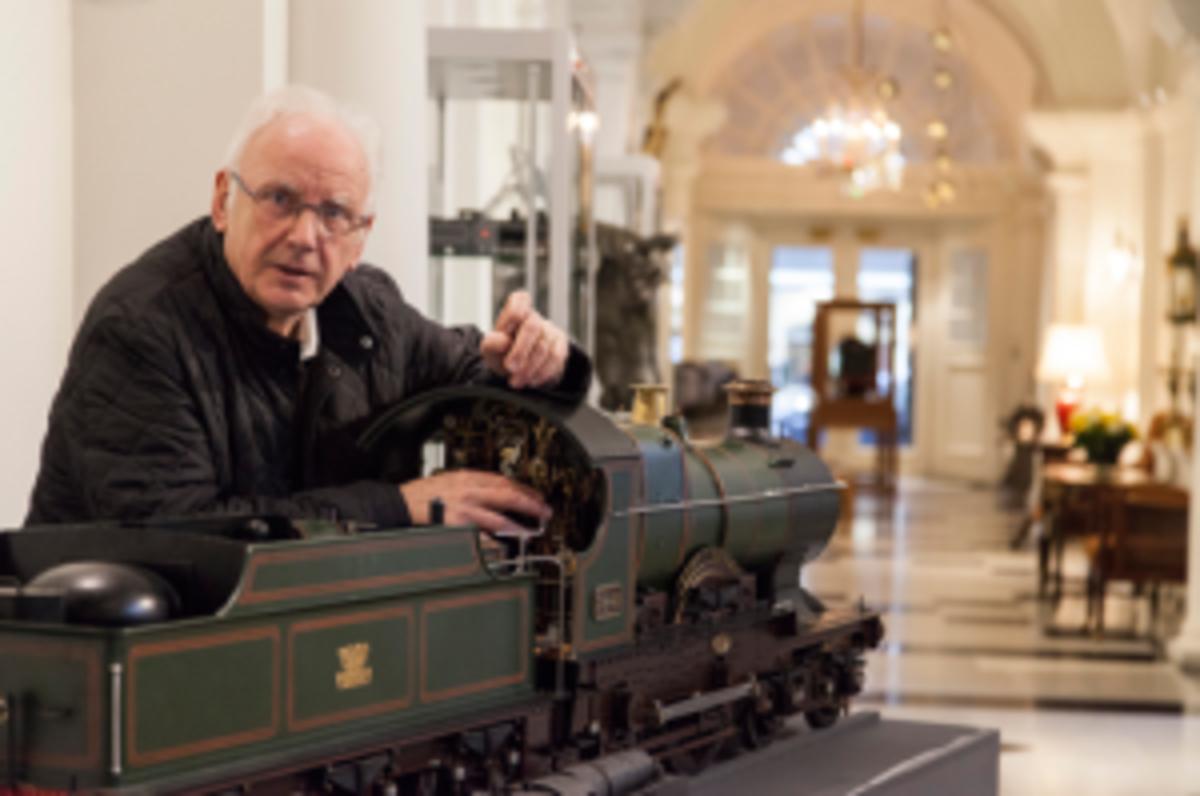 Watterman and train