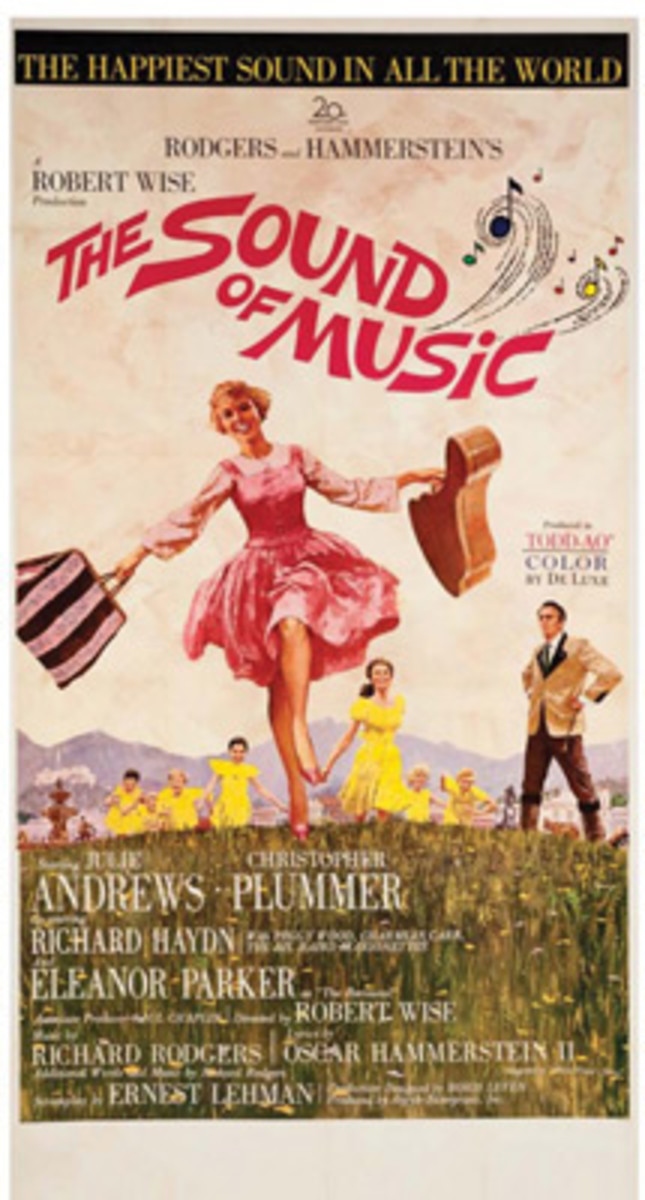 """Sound of Music"" movie poster"
