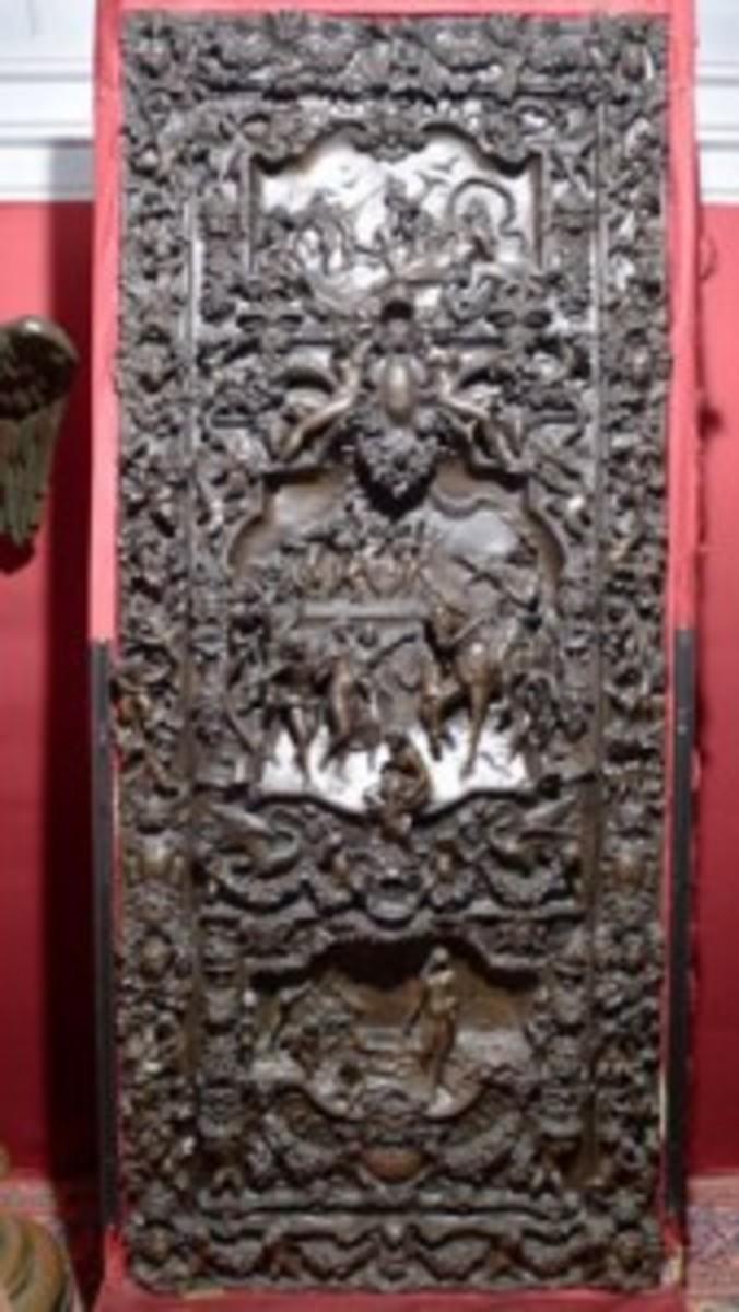 Bronze-doorweb
