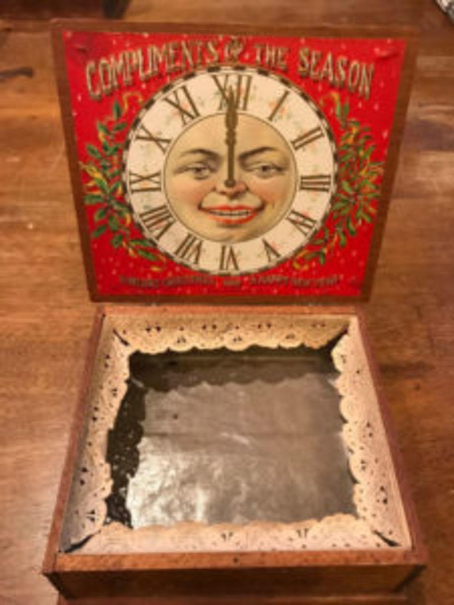 Seasonal cigar box