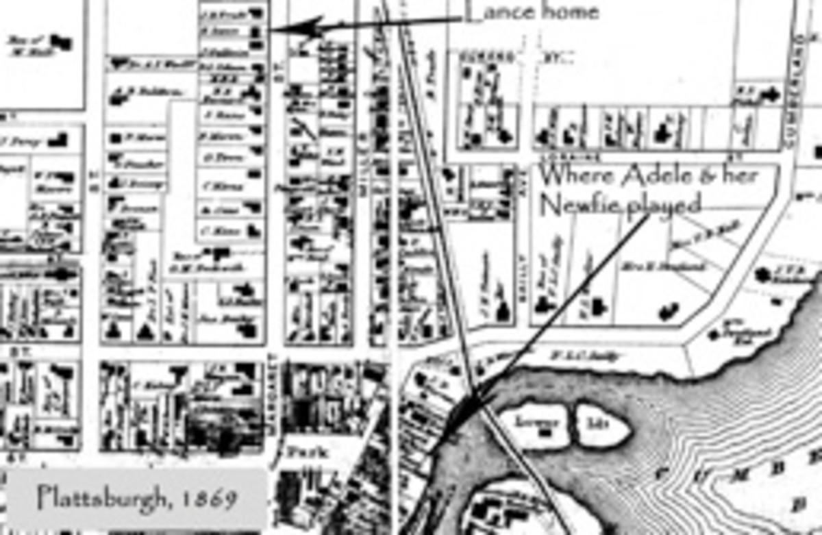 19th century map
