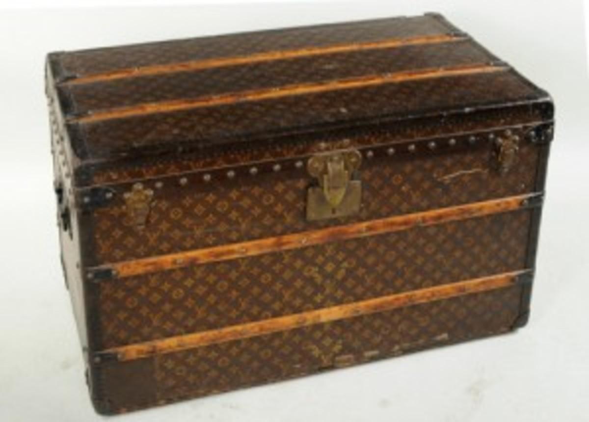 Vuitton trunk