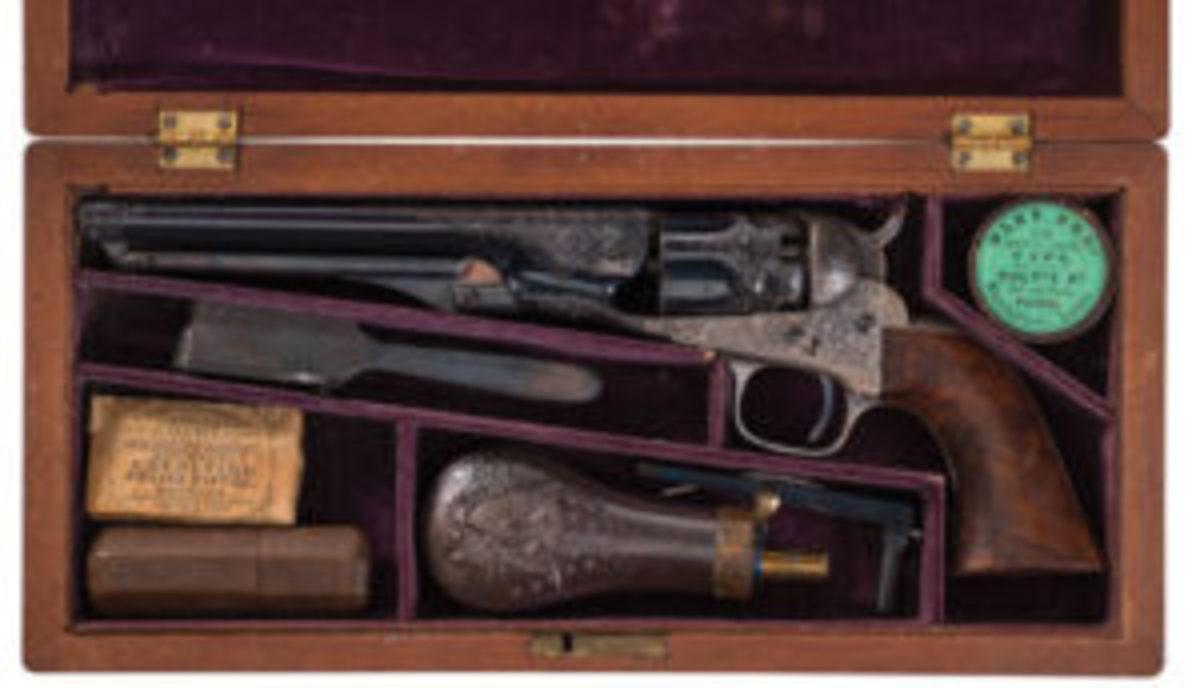 Colt presented Police Percussion Revolver