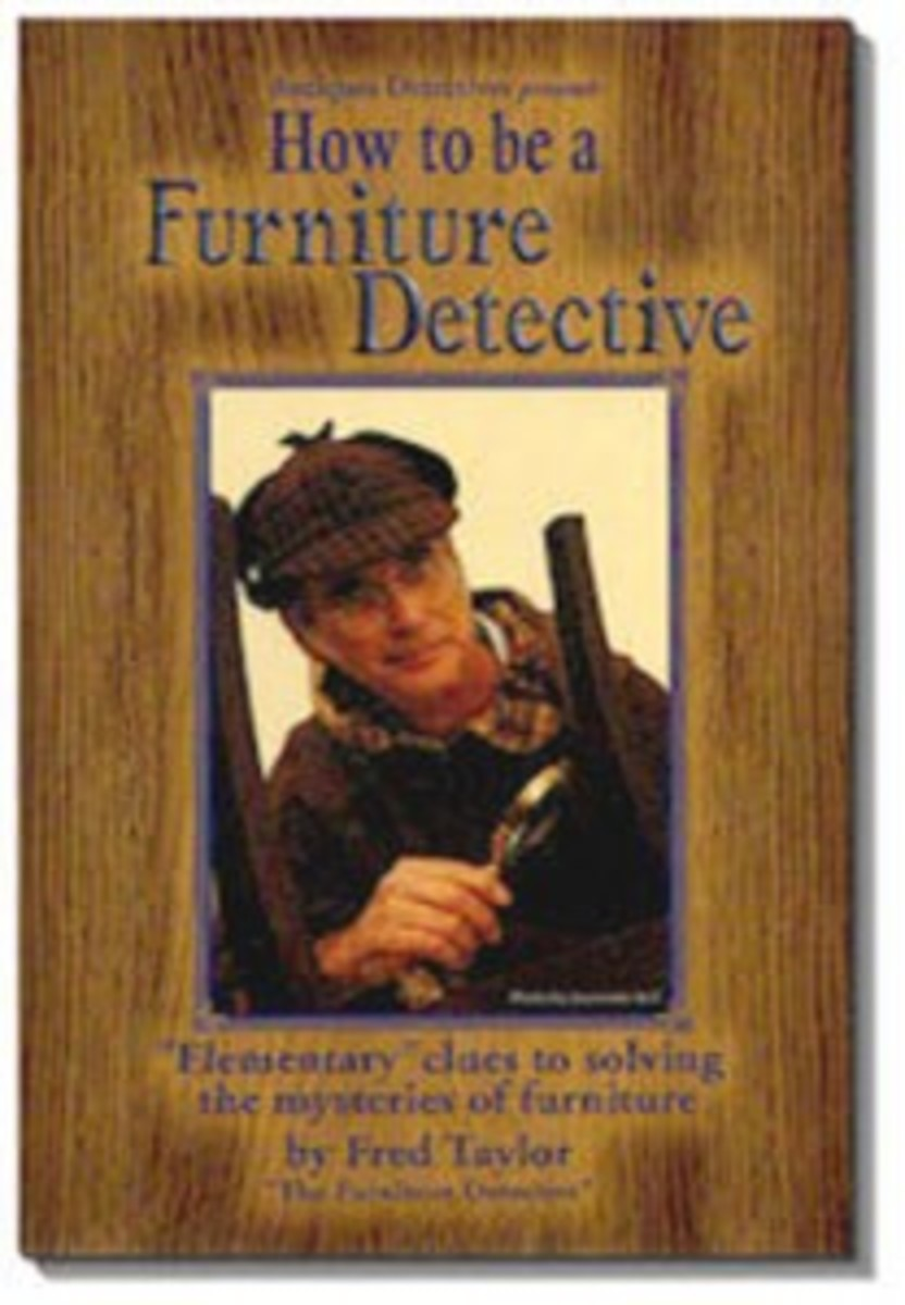 This exceptional book from the man who brings you the Furniture Detective column in Antique Trader each issue. Get your copy of this top-seller today at www.furnituredetective.com. ($18.95+S&H).