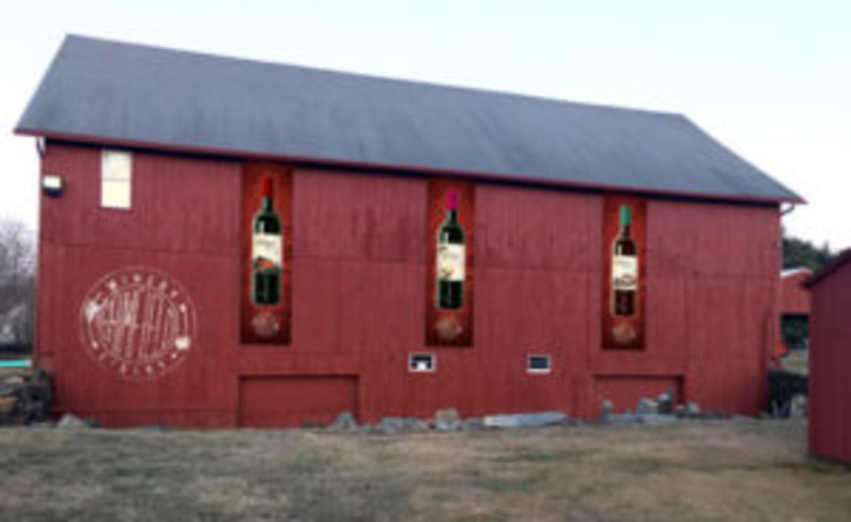 Brimfield barn.