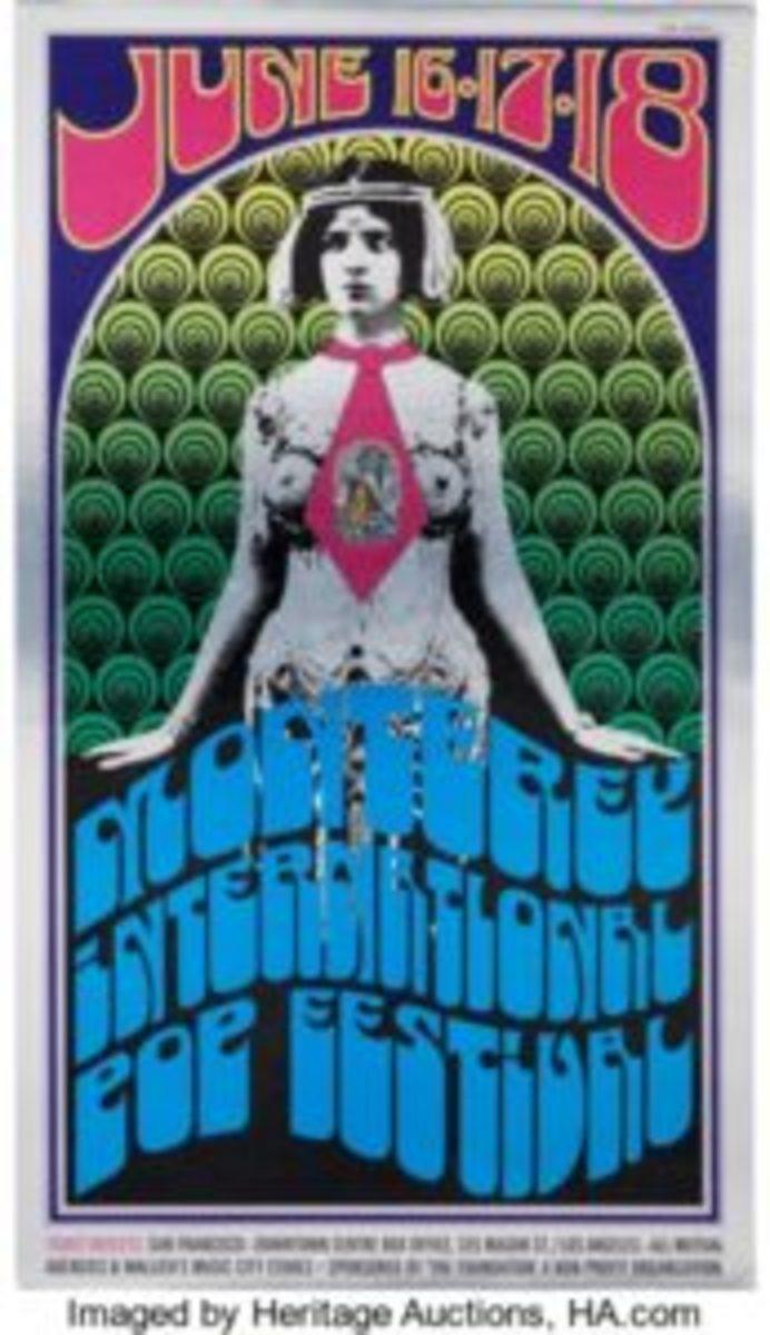 Monterey Festival poster