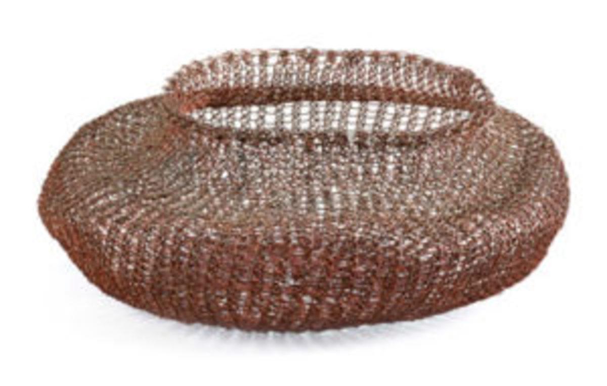 Ruth Asawa woven wire basket