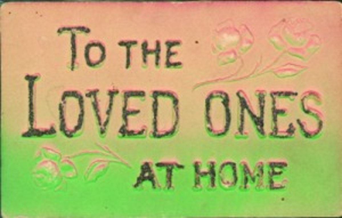Loved Ones postcard