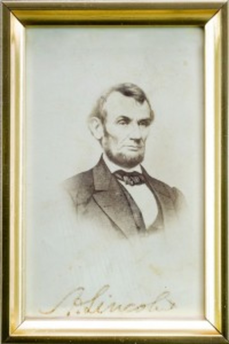 Lincoln photograph