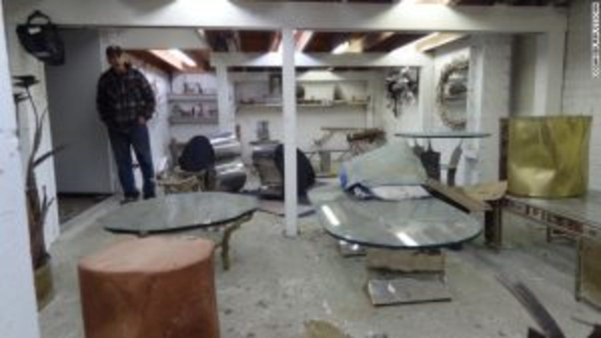 Superstorm Sandy storage space damage