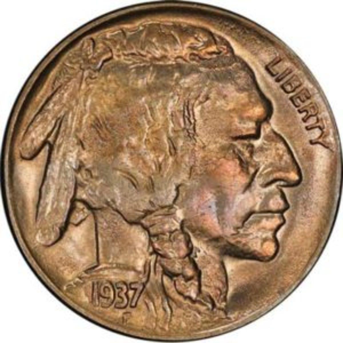 3 legged buffalo nickel
