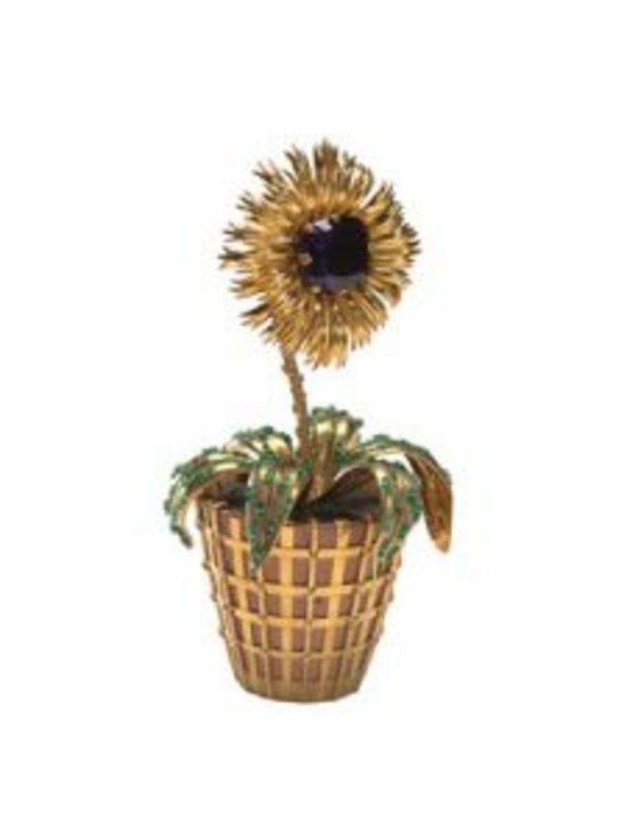 Flower pot, Jean Schlumberger