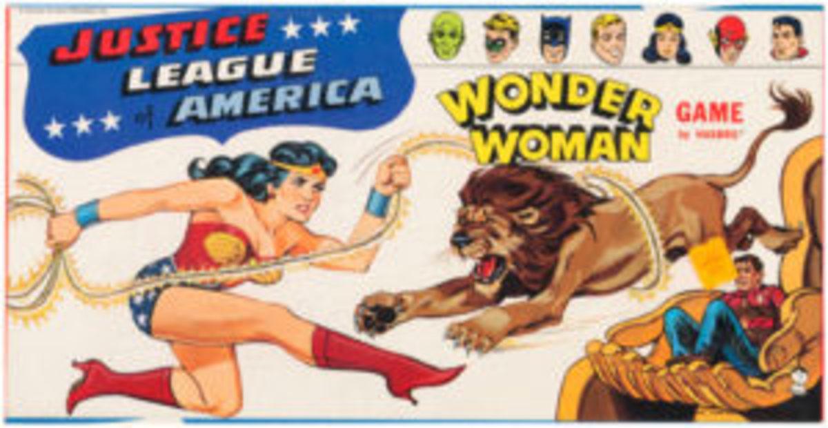 WonderWoman game