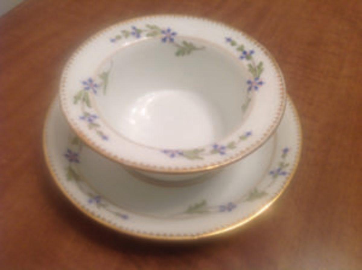 Limoges porcelain ramekin