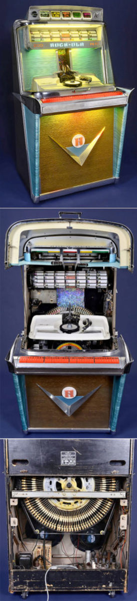 Rock-Ola Tempo I Jukebox, 1959, estimate $7,900-$10,200.