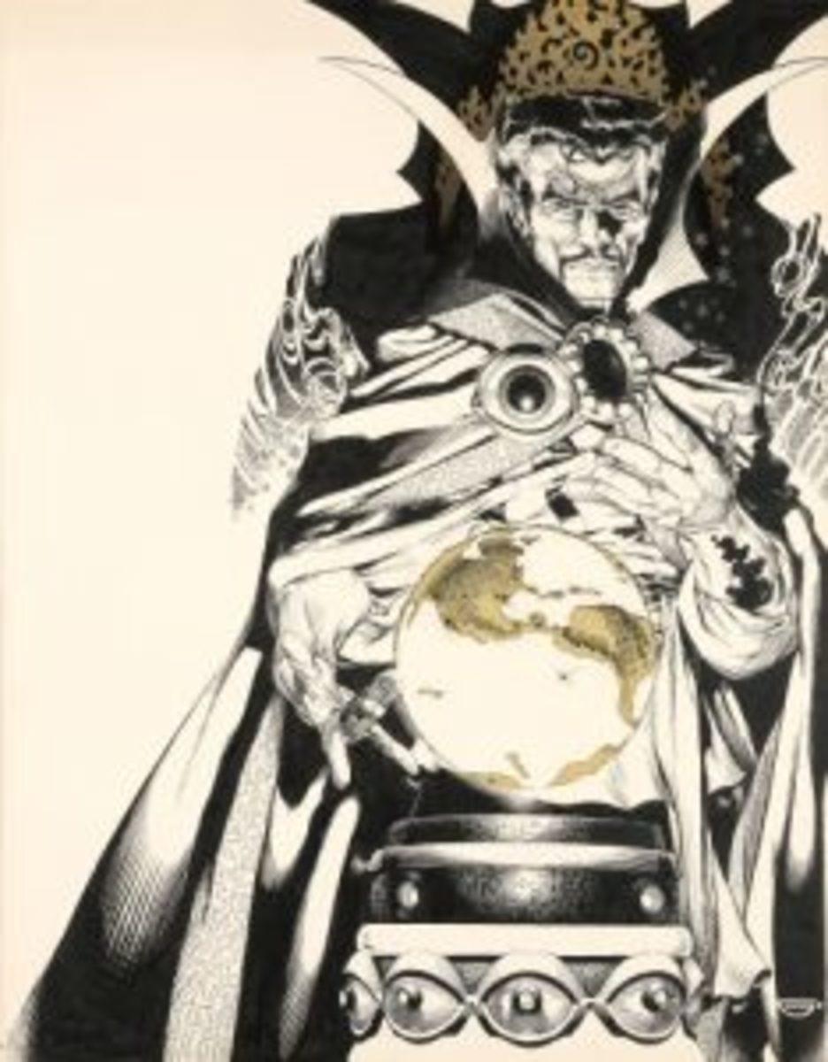 Doctor Strange cover art
