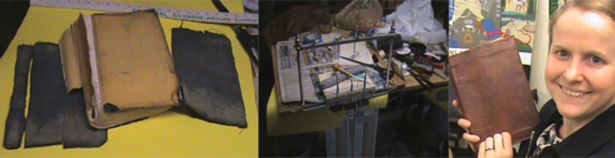 series of repair images