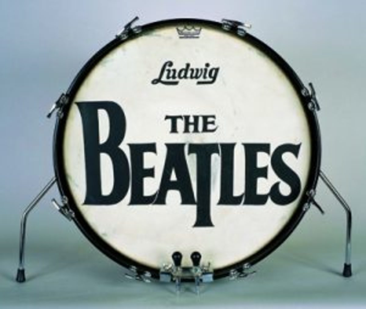 The Beatles drum head