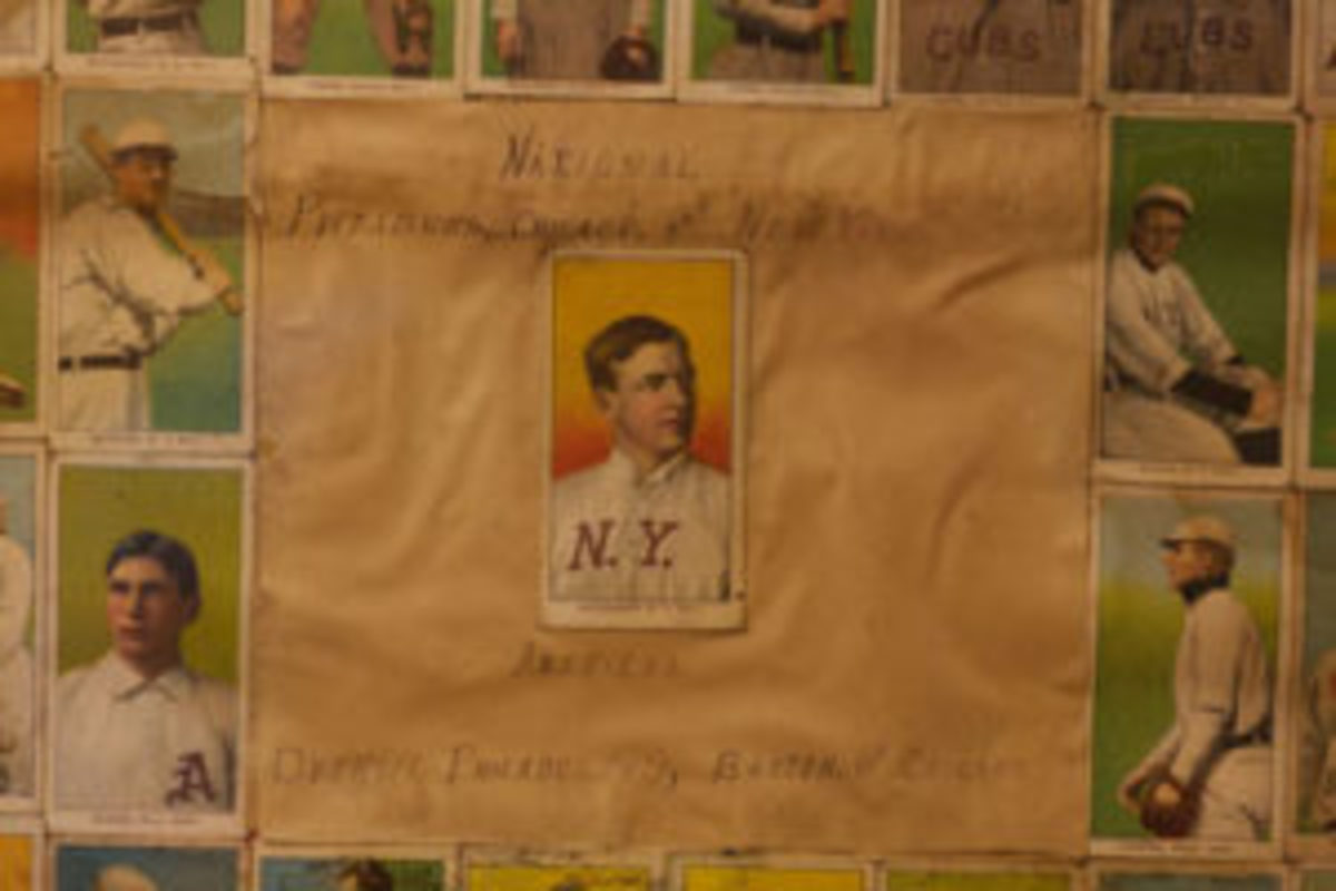 Christy Mathewson baseball card