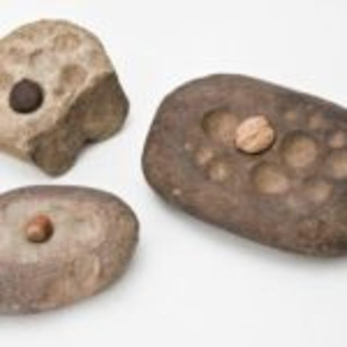 Nutting stones