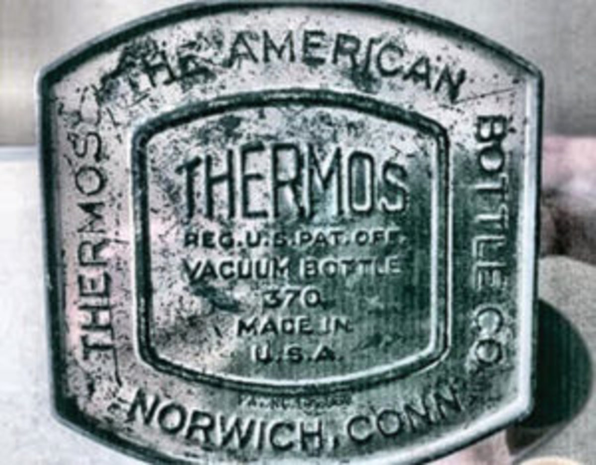Vintage Thermos markings