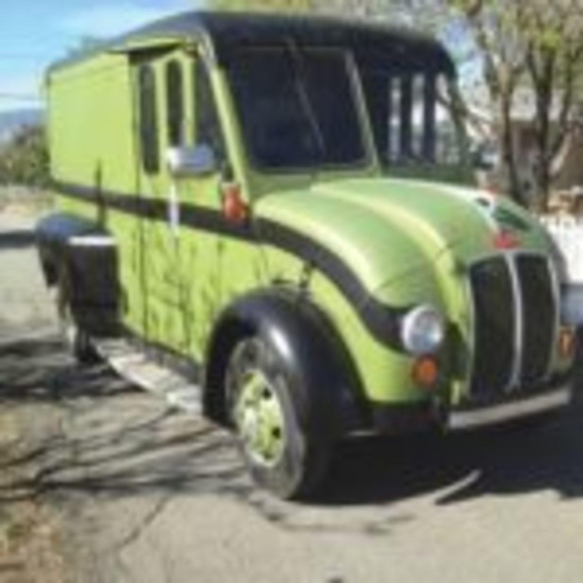 1970 Custom Divco truck
