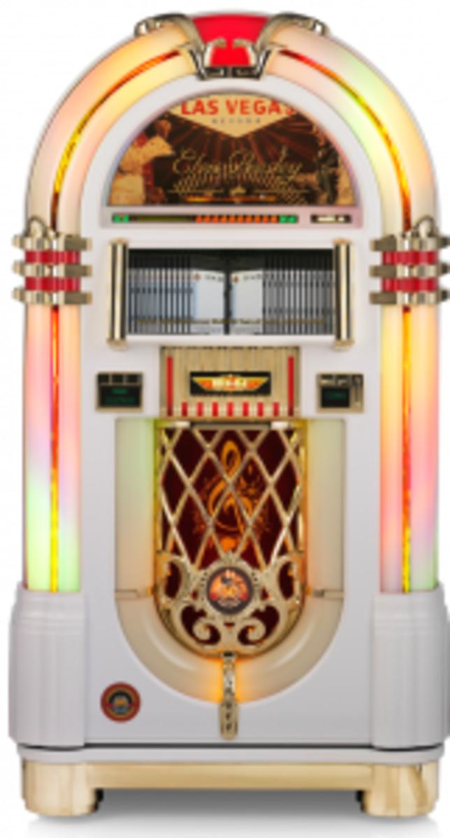 Elvis Presley commemorative jukebox