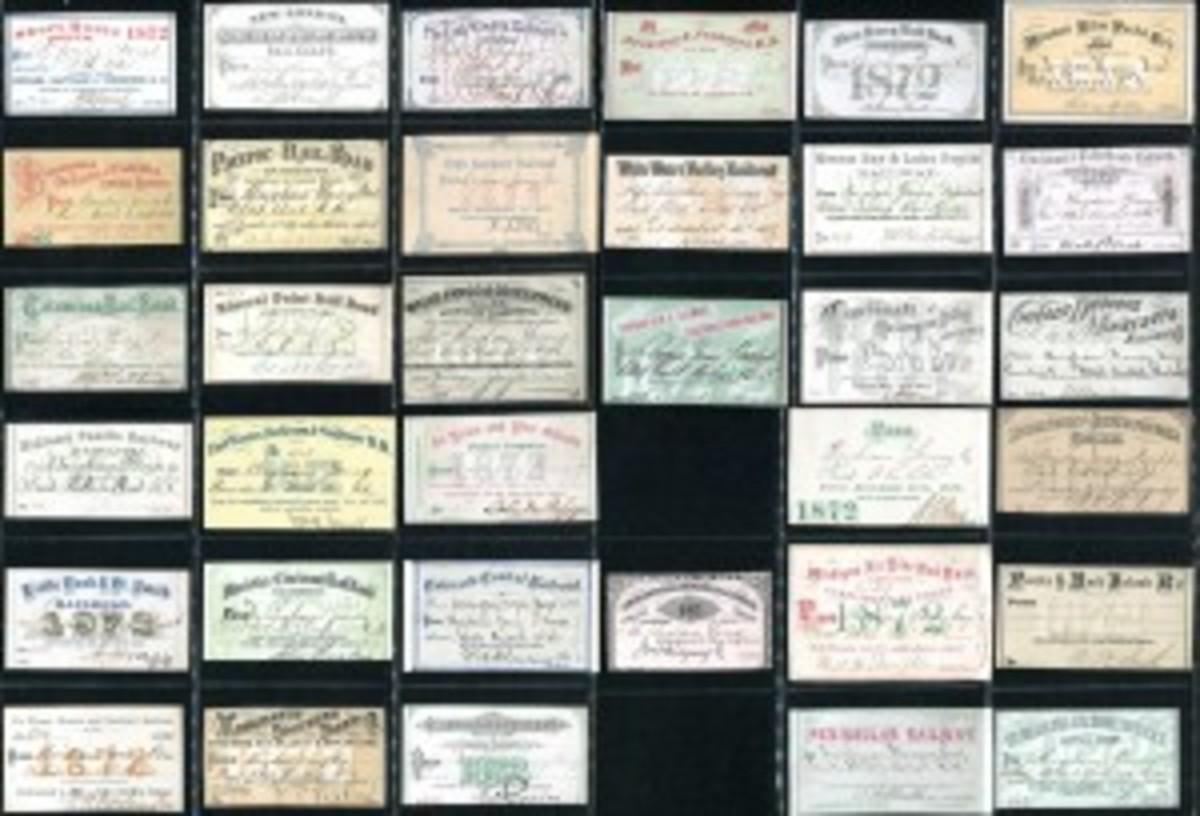 Bringham Young railroad tickets