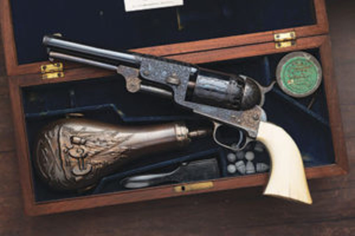 The acclaimed Colt Millikin Dragoon sold recently for more than $1.6 million. Courtesy of Rock Island Auction