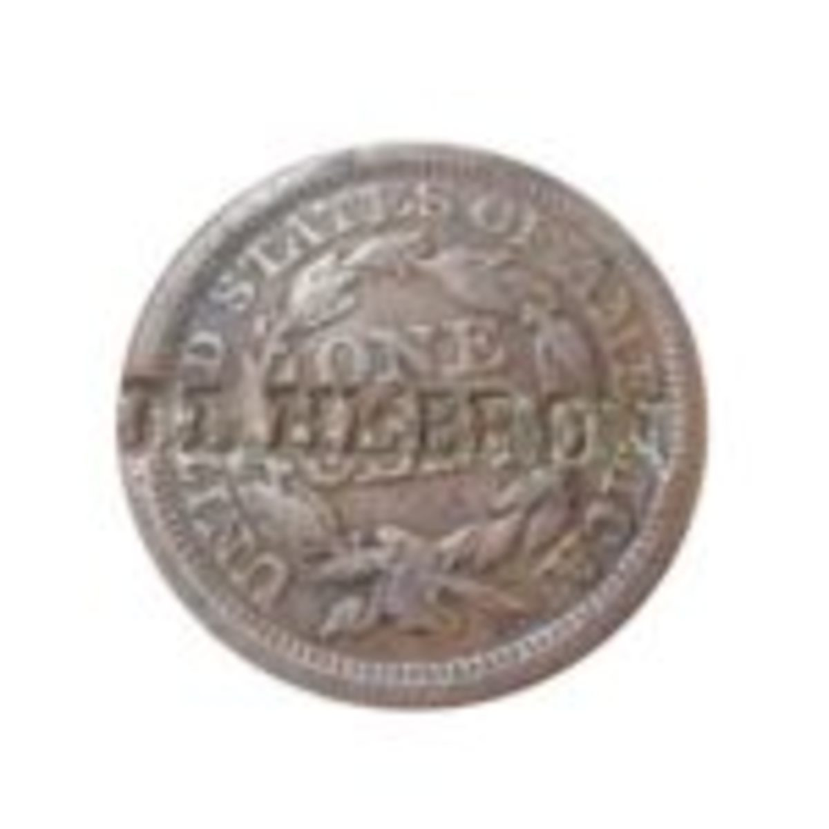 'J.L. Hebron' is stamped in a large cent, which was made by this Ohio soldier, John L. Hebron. This dog tag is part of the huge Hebron family collection that can be viewed online at http://www.midtenrelics.com.