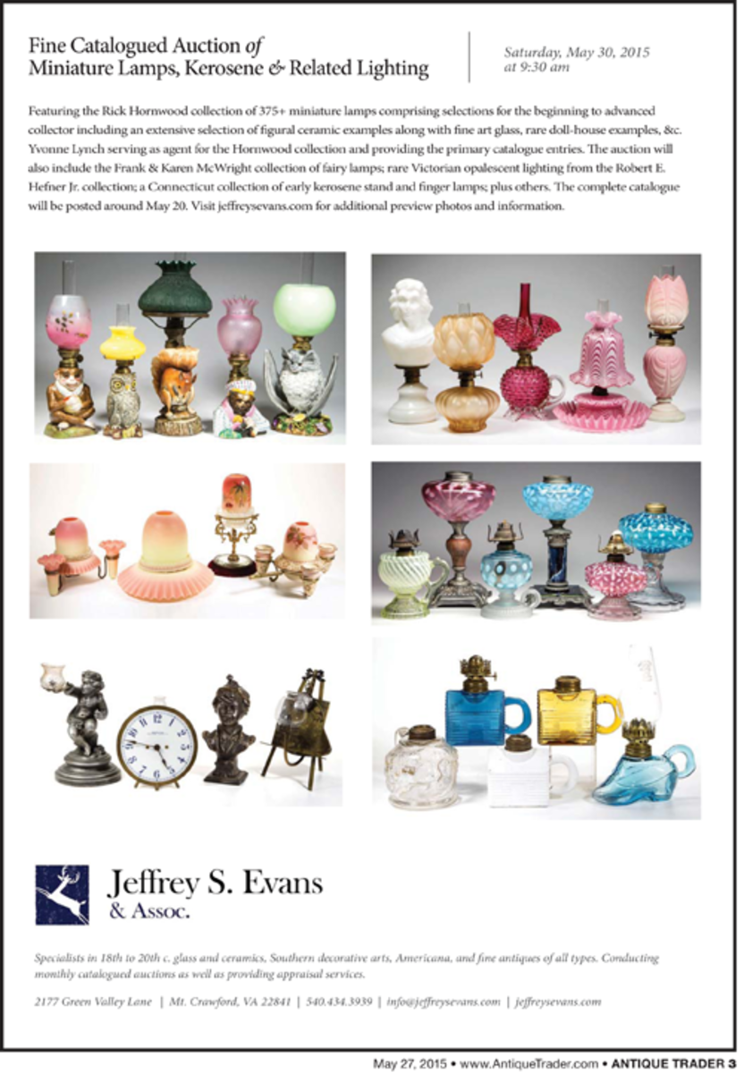 Jeffrey S. Evans May 30 auction