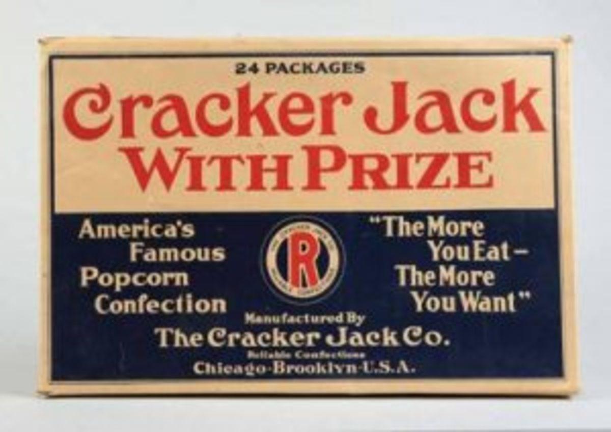 Cracker Jack vendor box