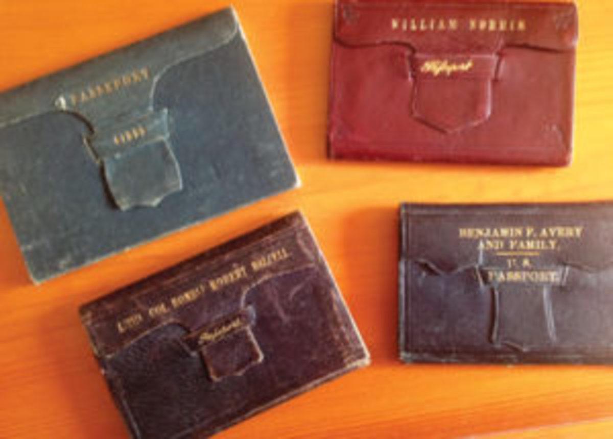 Custom-made passport wallets