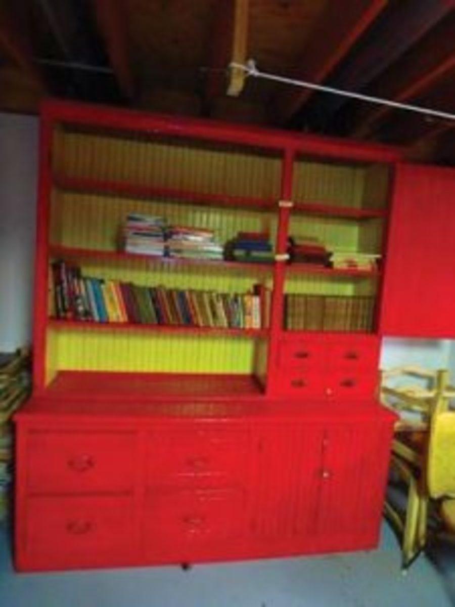 Original cupboard