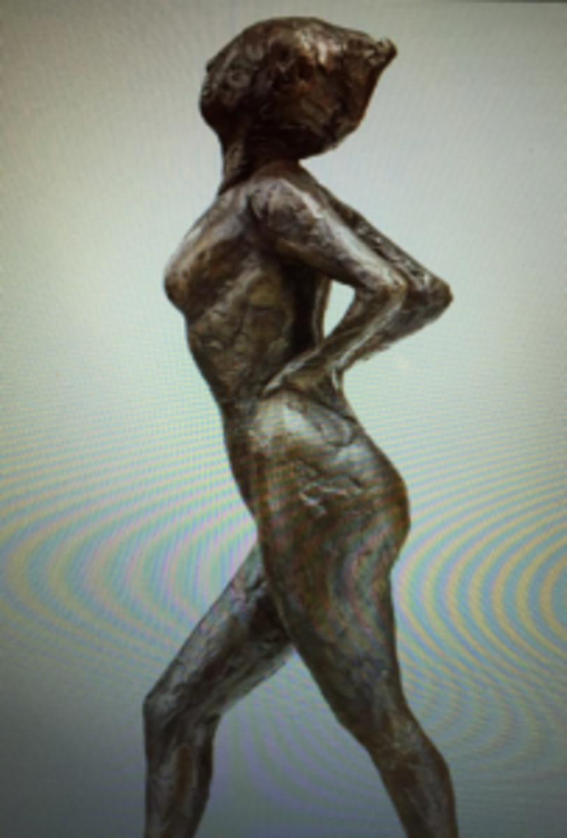 Degas bronze sculpture