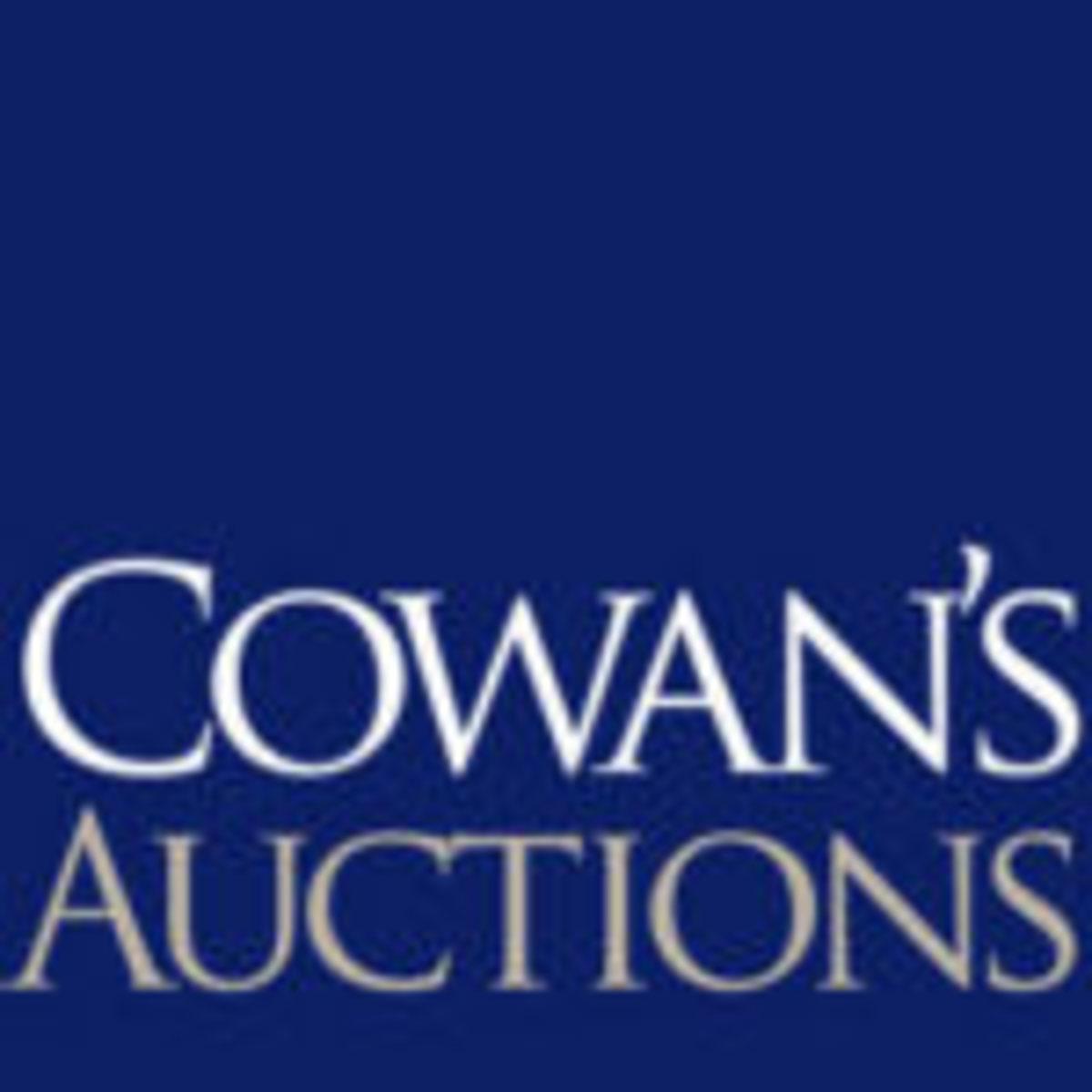 Cowan's Auctions, www.cowans.com
