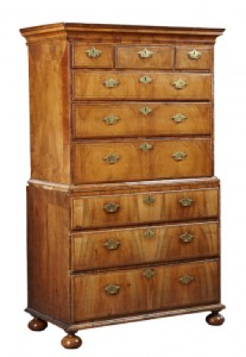 George II-style chest on chest