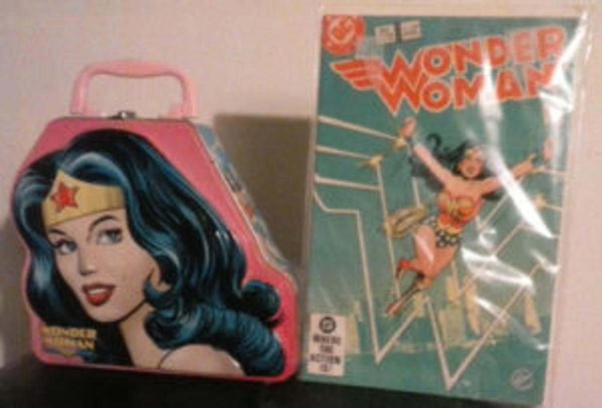 Toni's Wonder Woman items