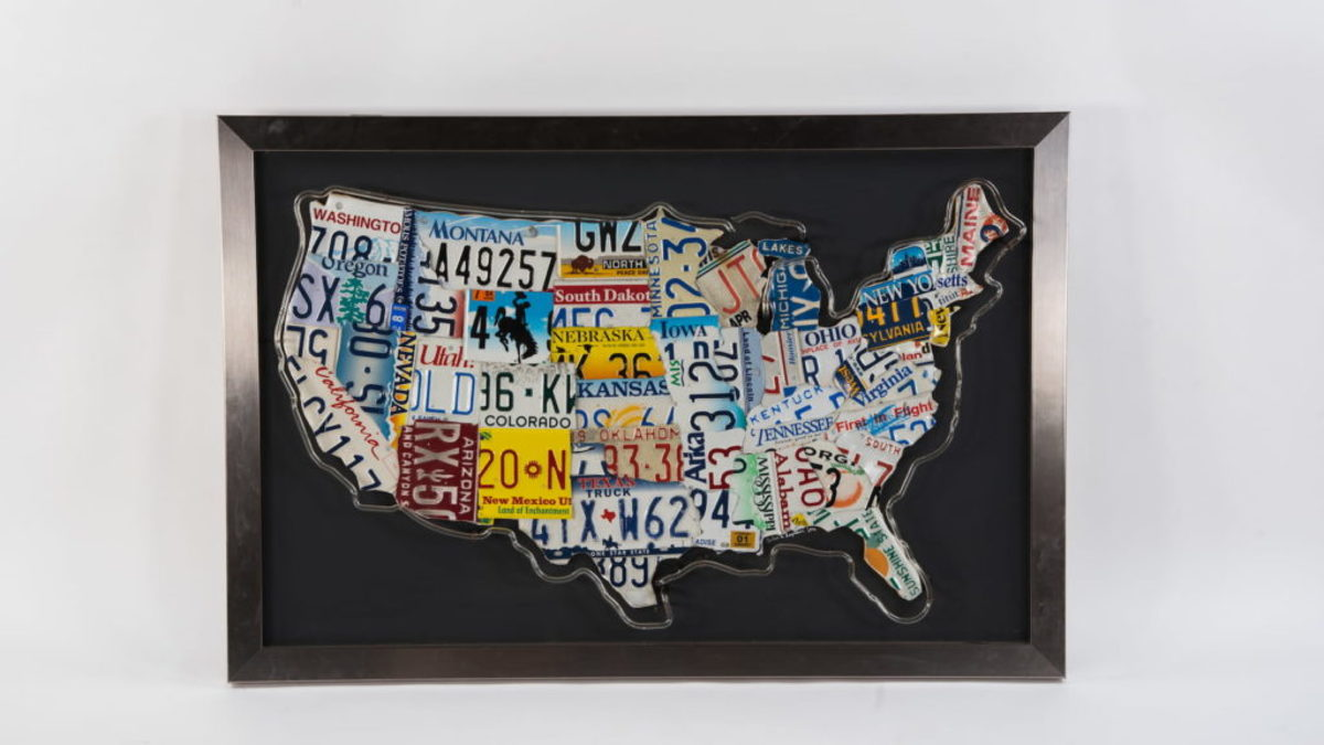 License Plate Map, www.mecum.com