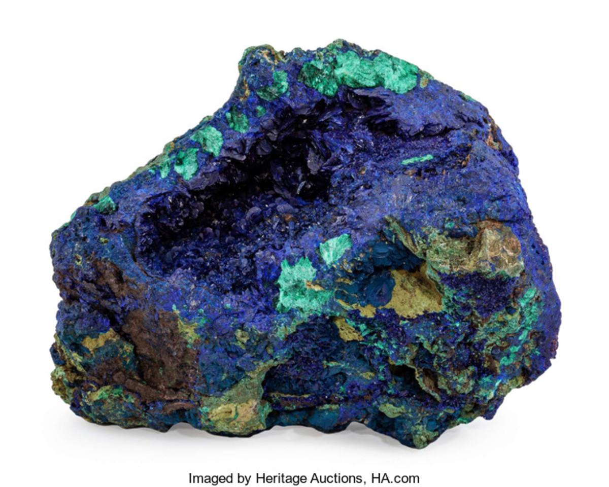 Azurite & Malachite specimen