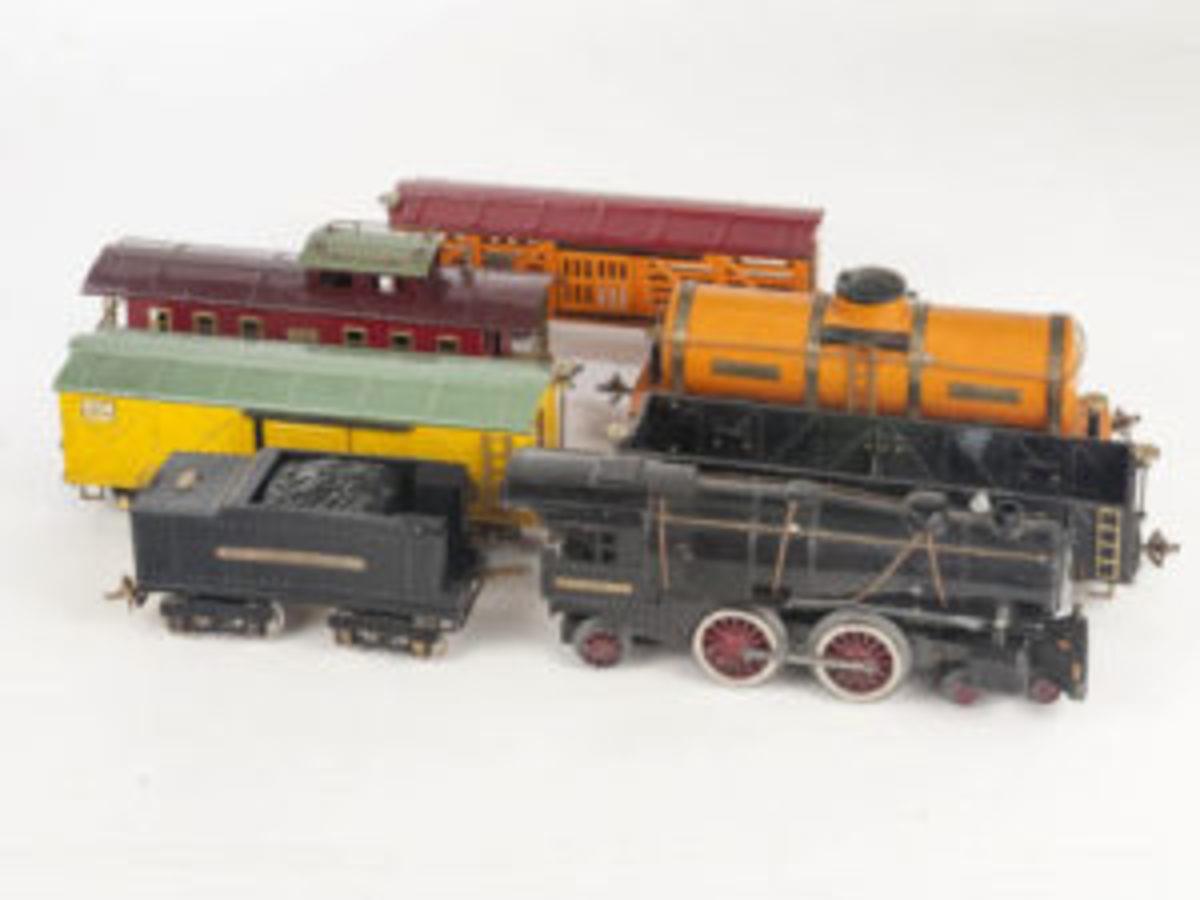Ives Railway Freight Train set