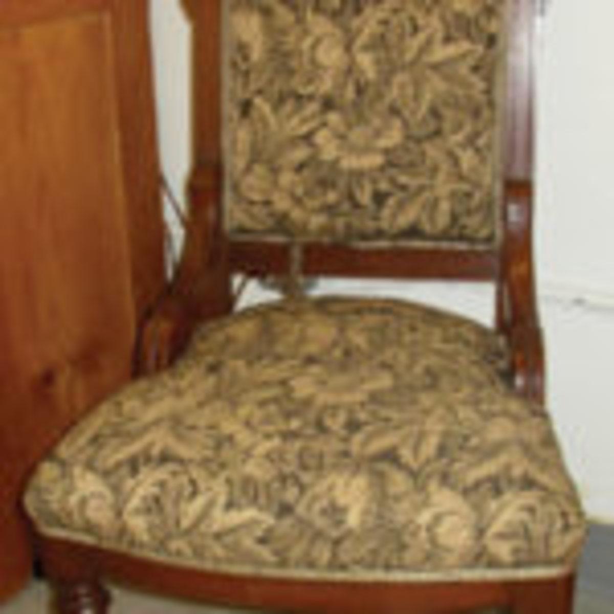 Renaissance Revival chair.