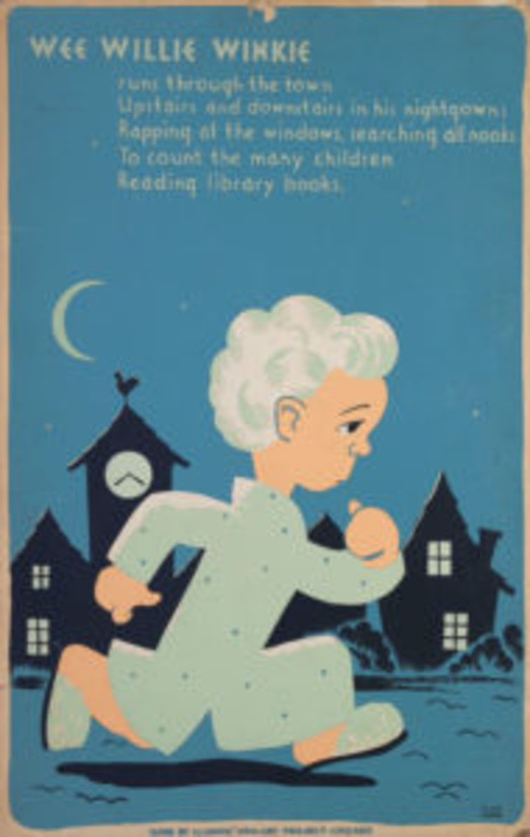 Wee Willie Winkie WPA reading poster