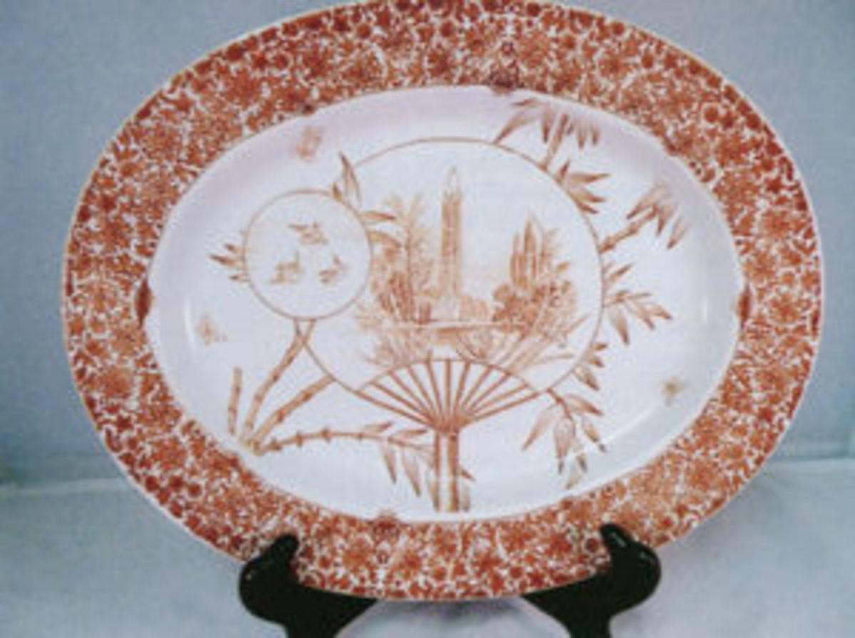 "Figure 1: 13"" Cairo platter. Courtesy of Kelly Keating"