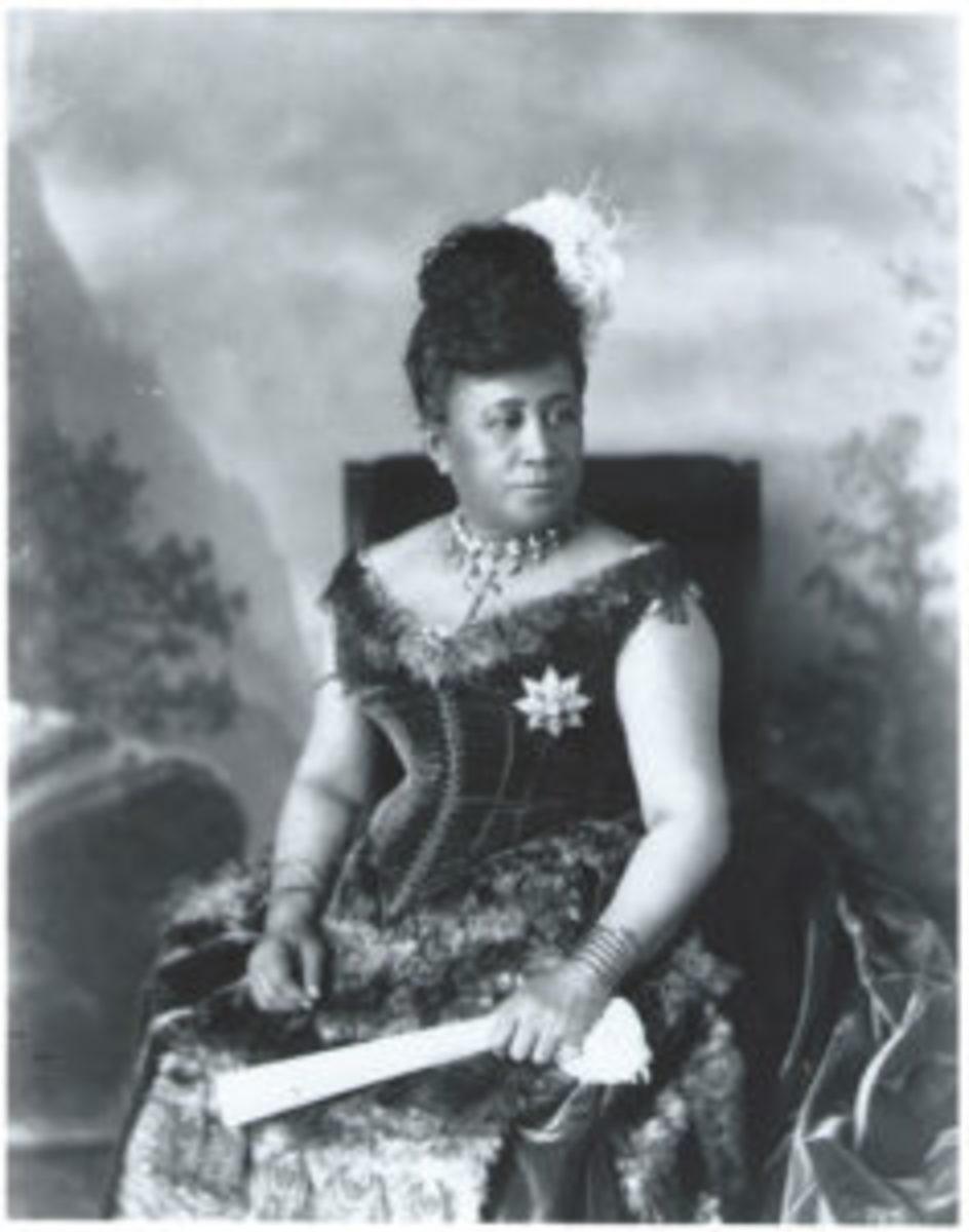 Queen Kapiolani attending Queen Victoria's Jubilee in 1877